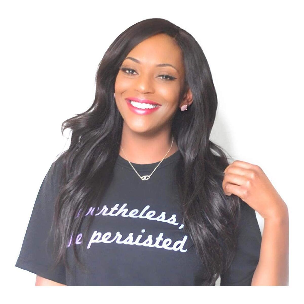 Nevertheless She Persisted Relaxed Fit Unisex Shirt (Size S-XL)