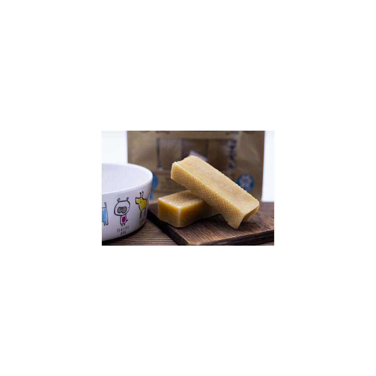 Tibetan Dog Chew Yak Cheese Himalayan Chew - Size: 2lbs Bulk Small