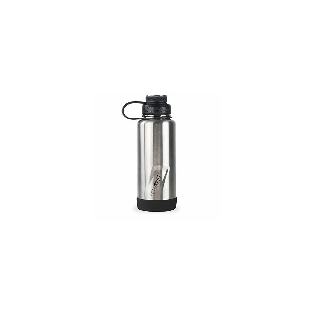 EcoVessel Boulder Insulated Water Bottle TriMax