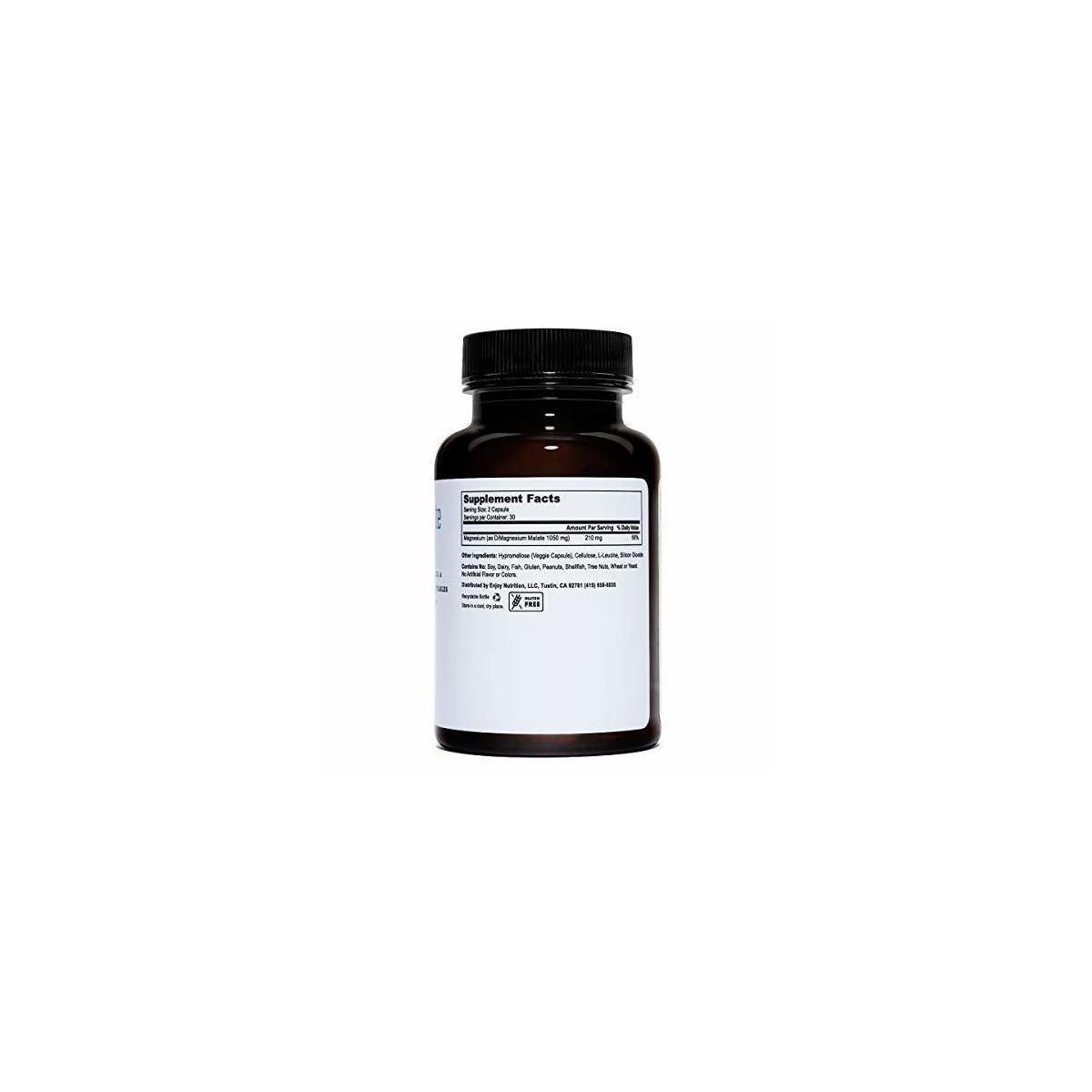 Magnesium Malate Veggie Caps (210mg)