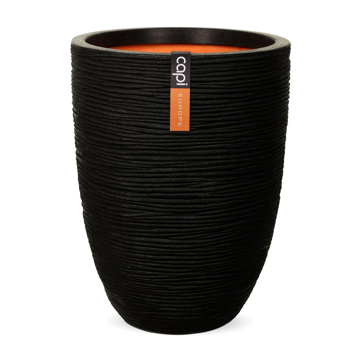 Elegant Black Plastic Vase