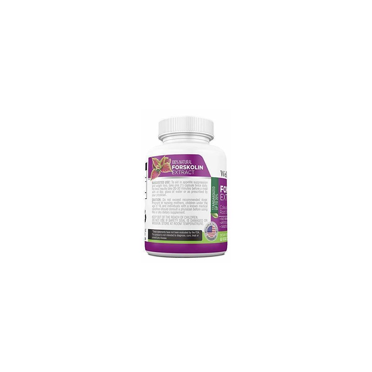 Forskolin 3000mg Max Strength - Fat Burner for Men and Women (3 Pack)