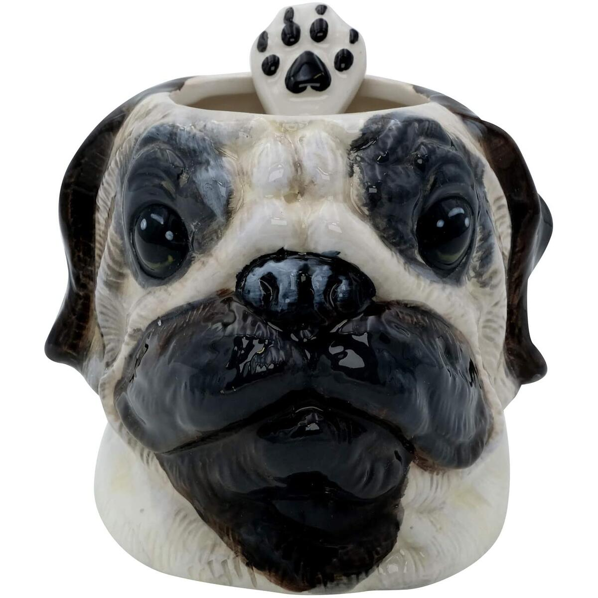 3D Hand Painted Dog Coffee Tea Ceramic Mug (Cocker Spaniel, Pug, Yorkshire Terrier, Dachshund Only)