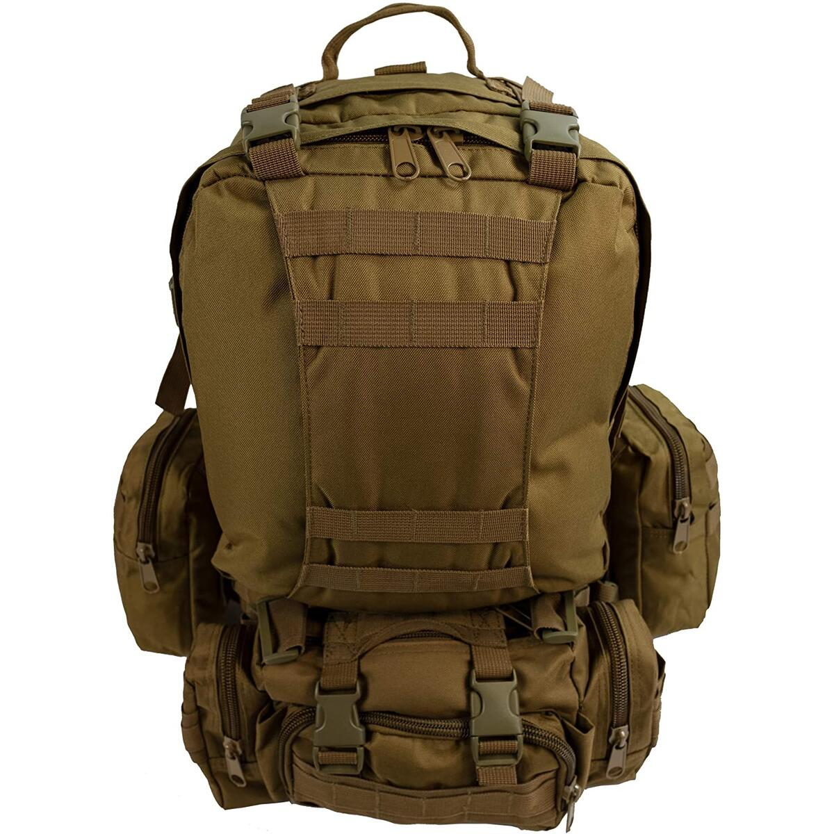 Military Army Tactical Backpack Combat 3 Day Assault Pack (Tan & Green Only)