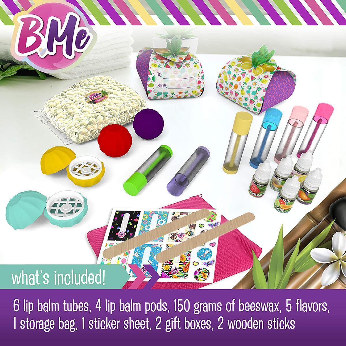 DIY Make Your Own Lip Balm Maker Kit for Girls