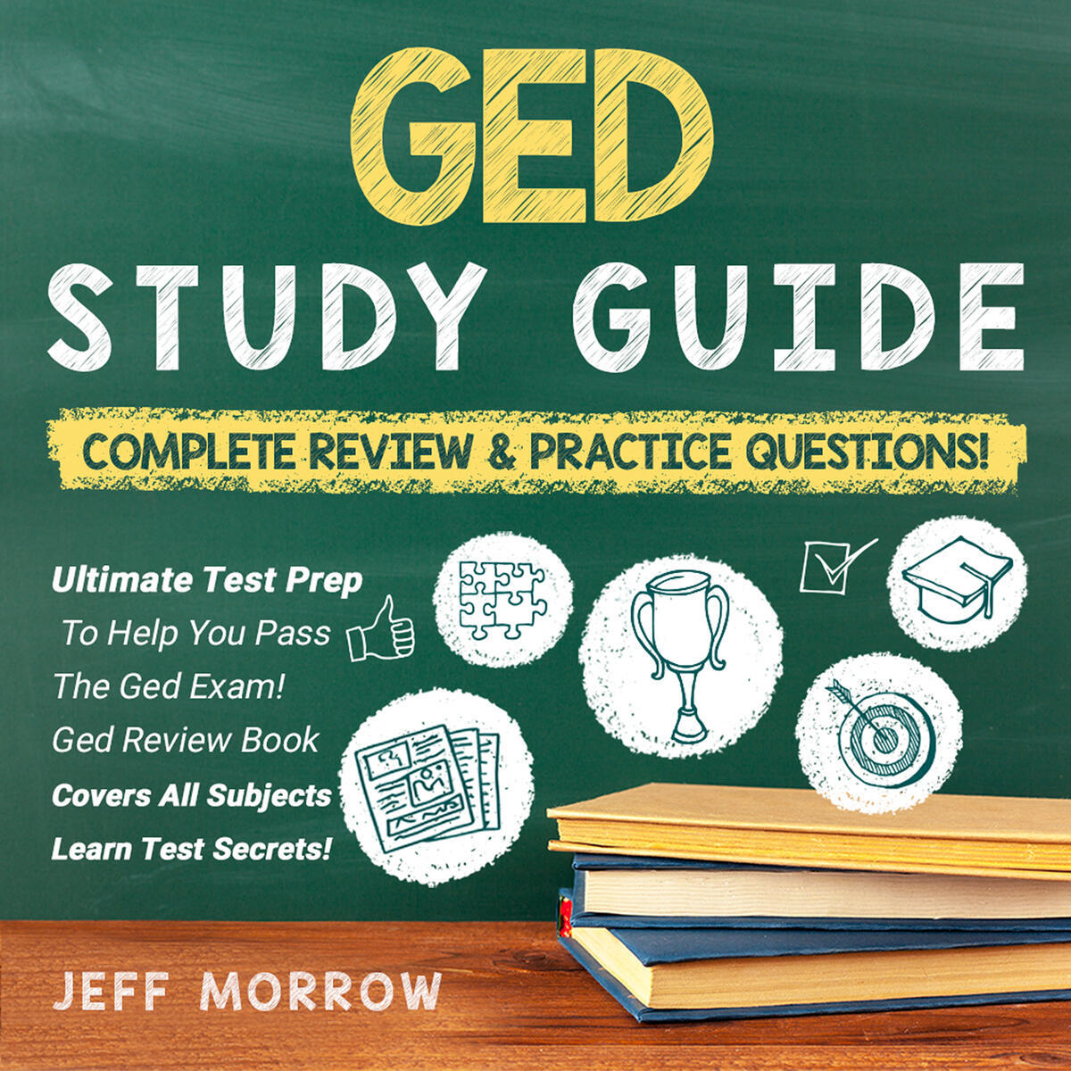 (Audible Audiobook) Ged Study Guide - Pass The GED Exam - Over 10 Hours!