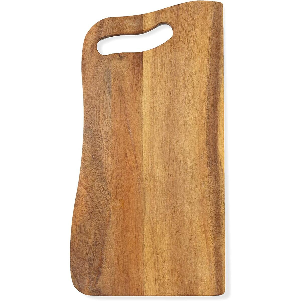 Small Cutting Board with Handle - Natural Wood Cheese Board - Rustic Design - Mini Charcuterie Boards