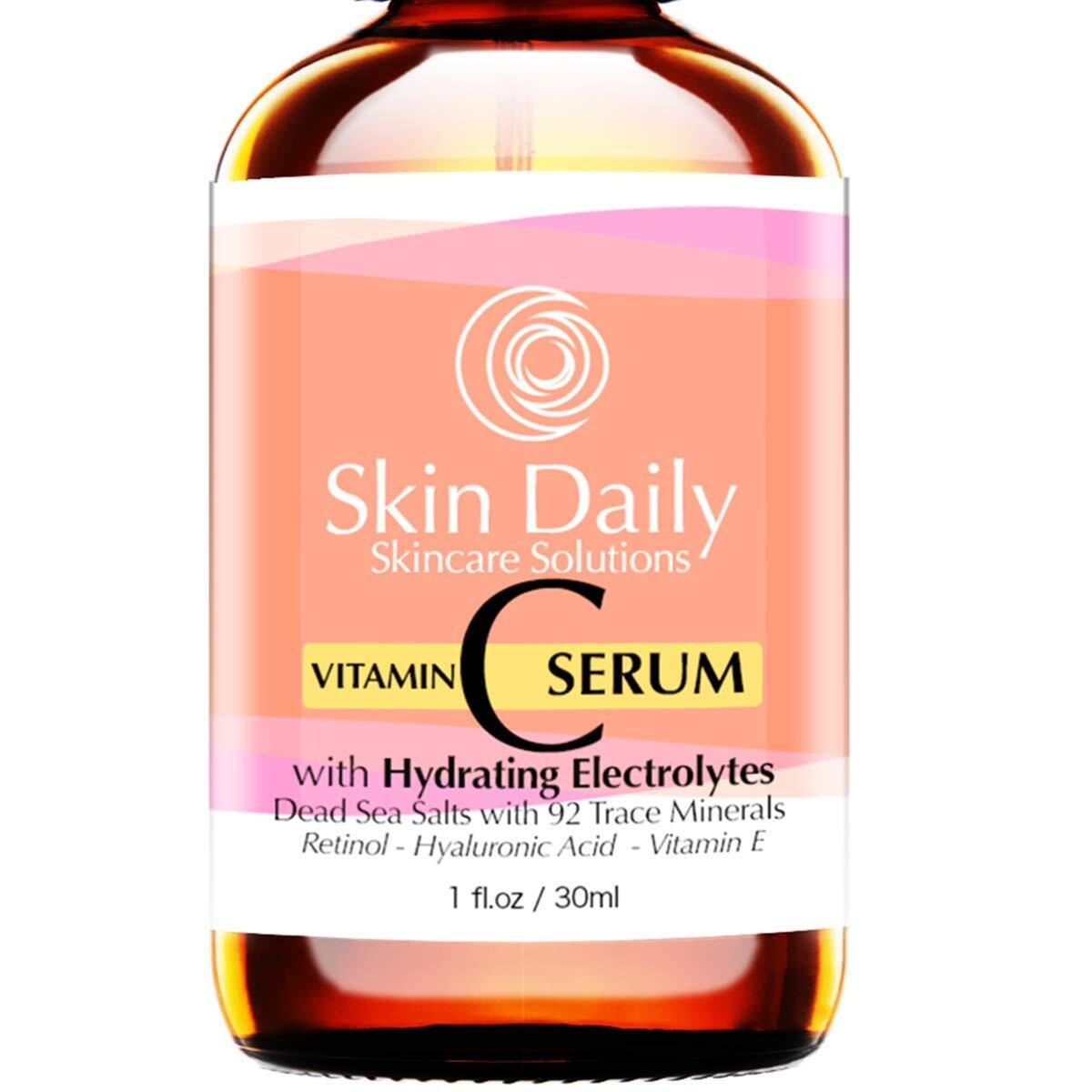 Premier Vitamin C Serum Infused with Hydrating Electrolytes