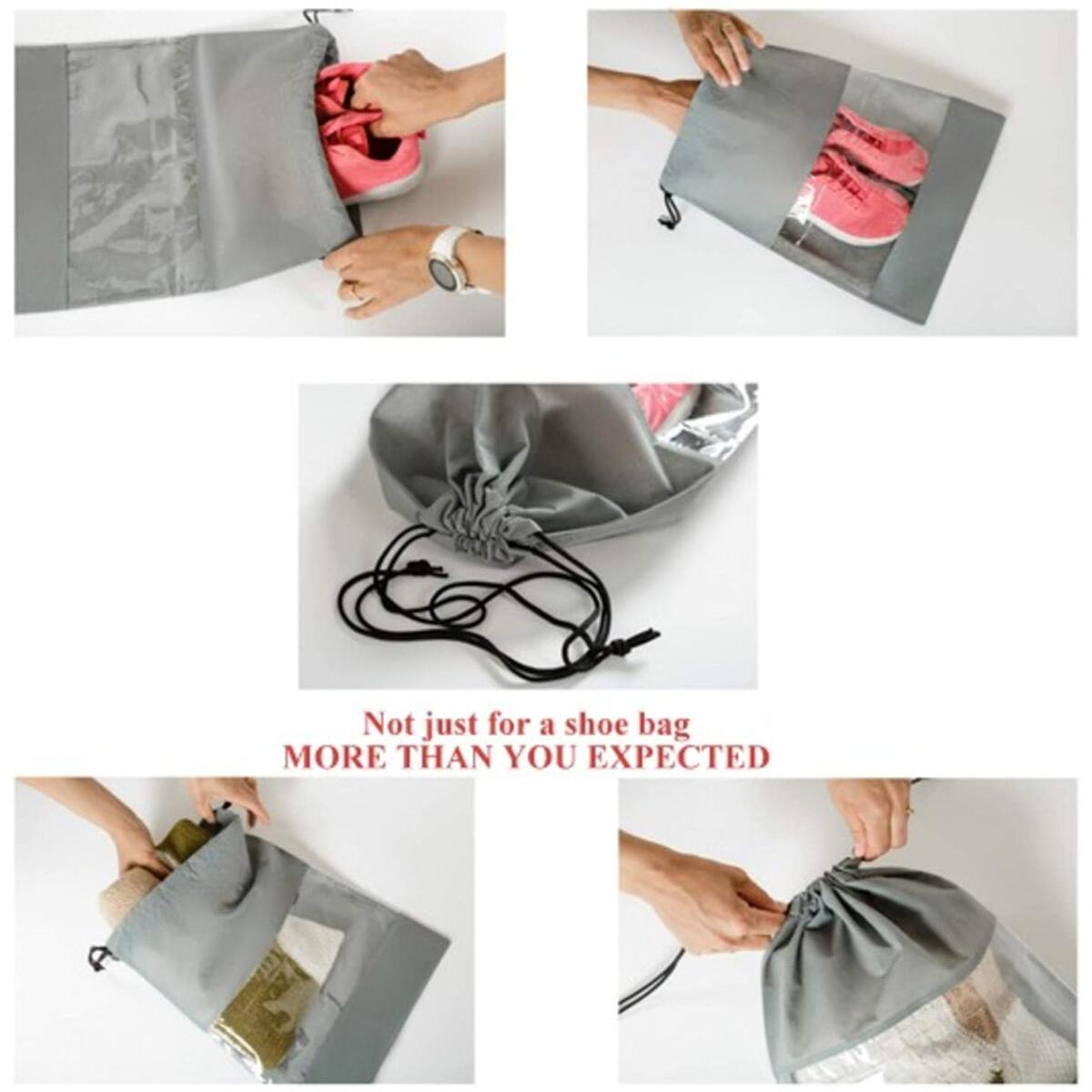 Foldable Underbed Storage Bag + 2 Shoe Bag Bonus