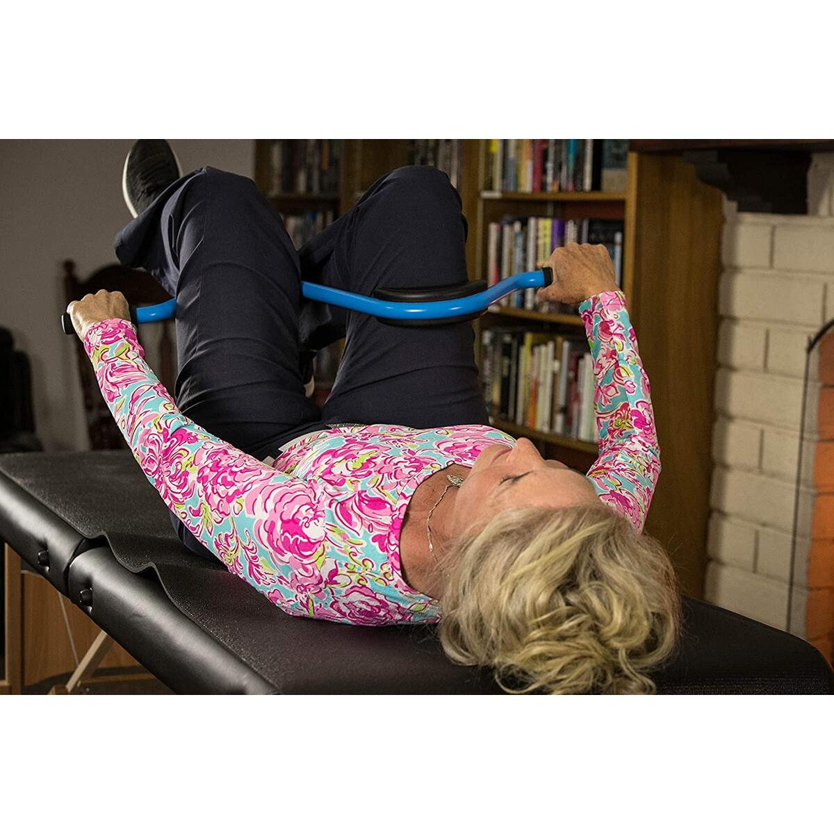 The Back Pedal Can Relieve Lower Back Pain and Strengthen, Realign, and Stabilize The Pelvis, Fast Results, Light Weight and Easy To Use, Patent Pending Technology