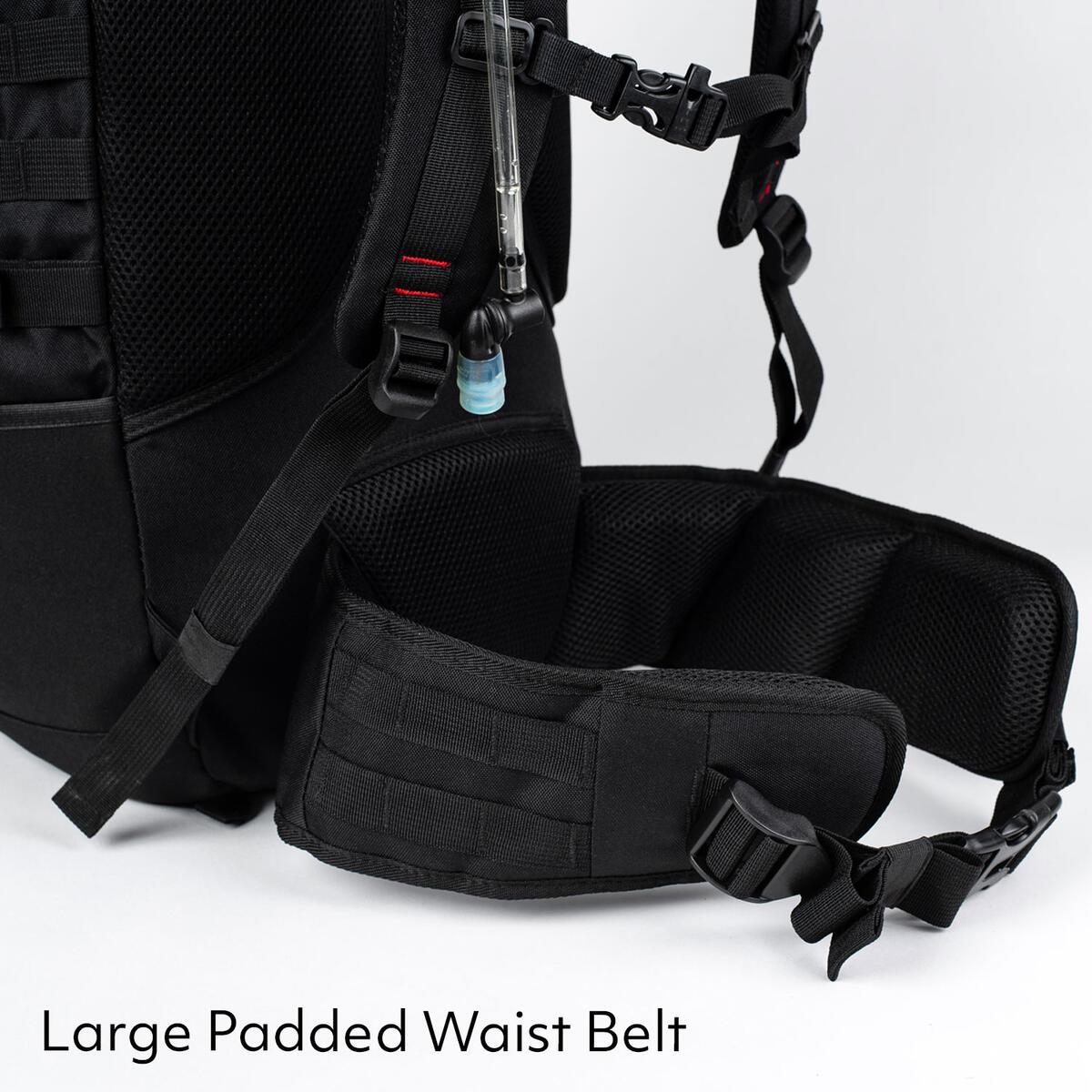 3V Gear Sovereign Redline Internal Frame Backpack - 50 Liter
