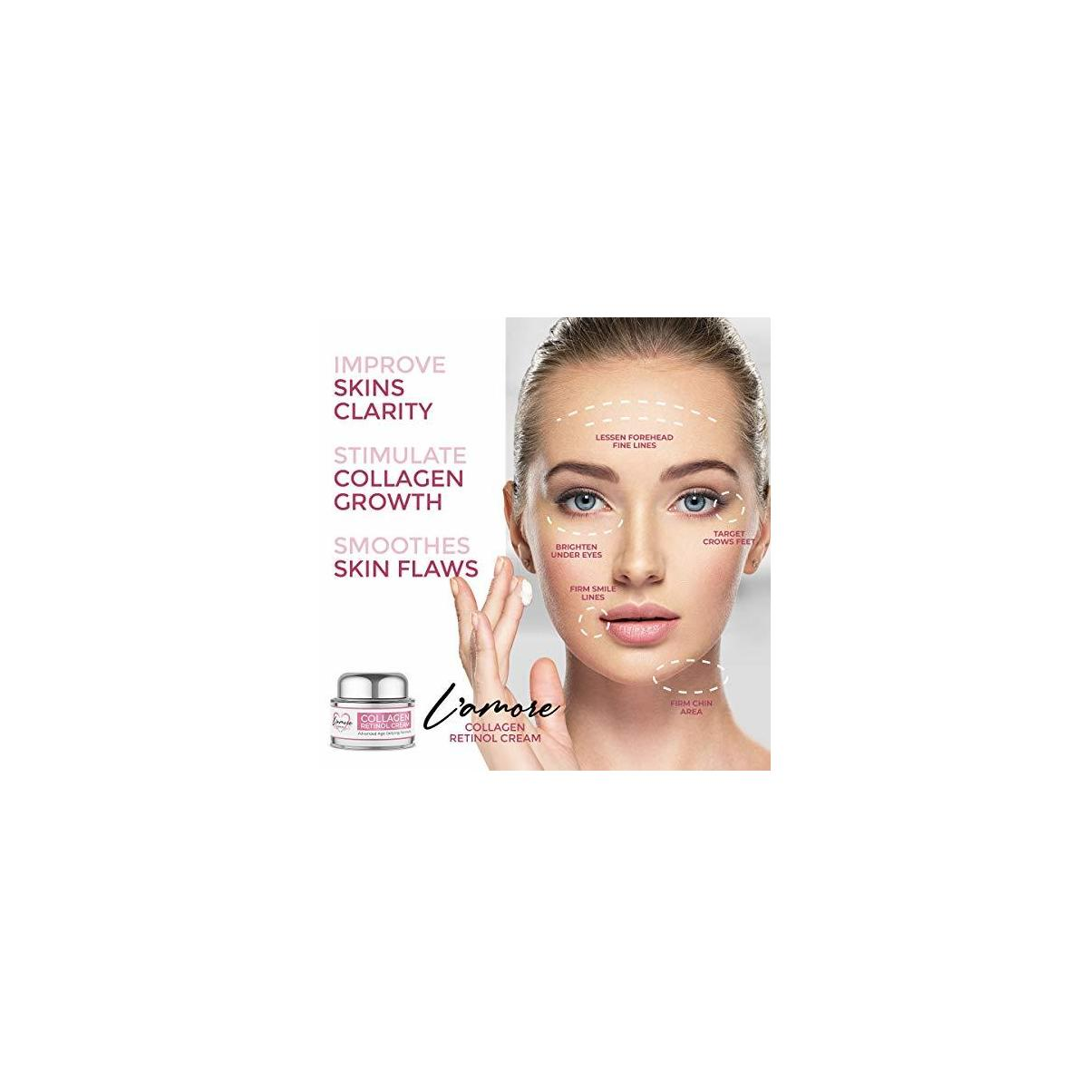 L'amore Beauty Collagen Retinol Cream