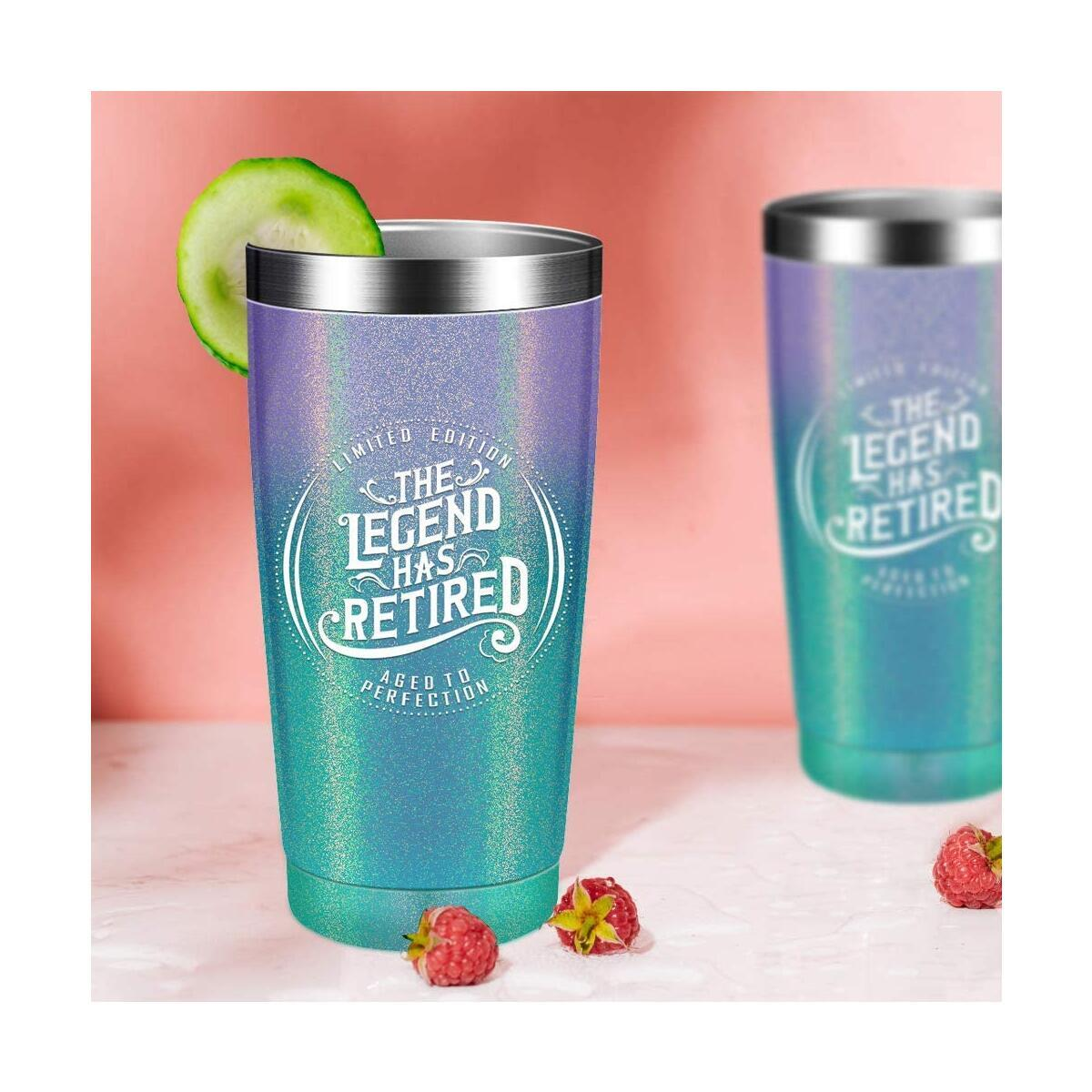 Retirement gifts cups