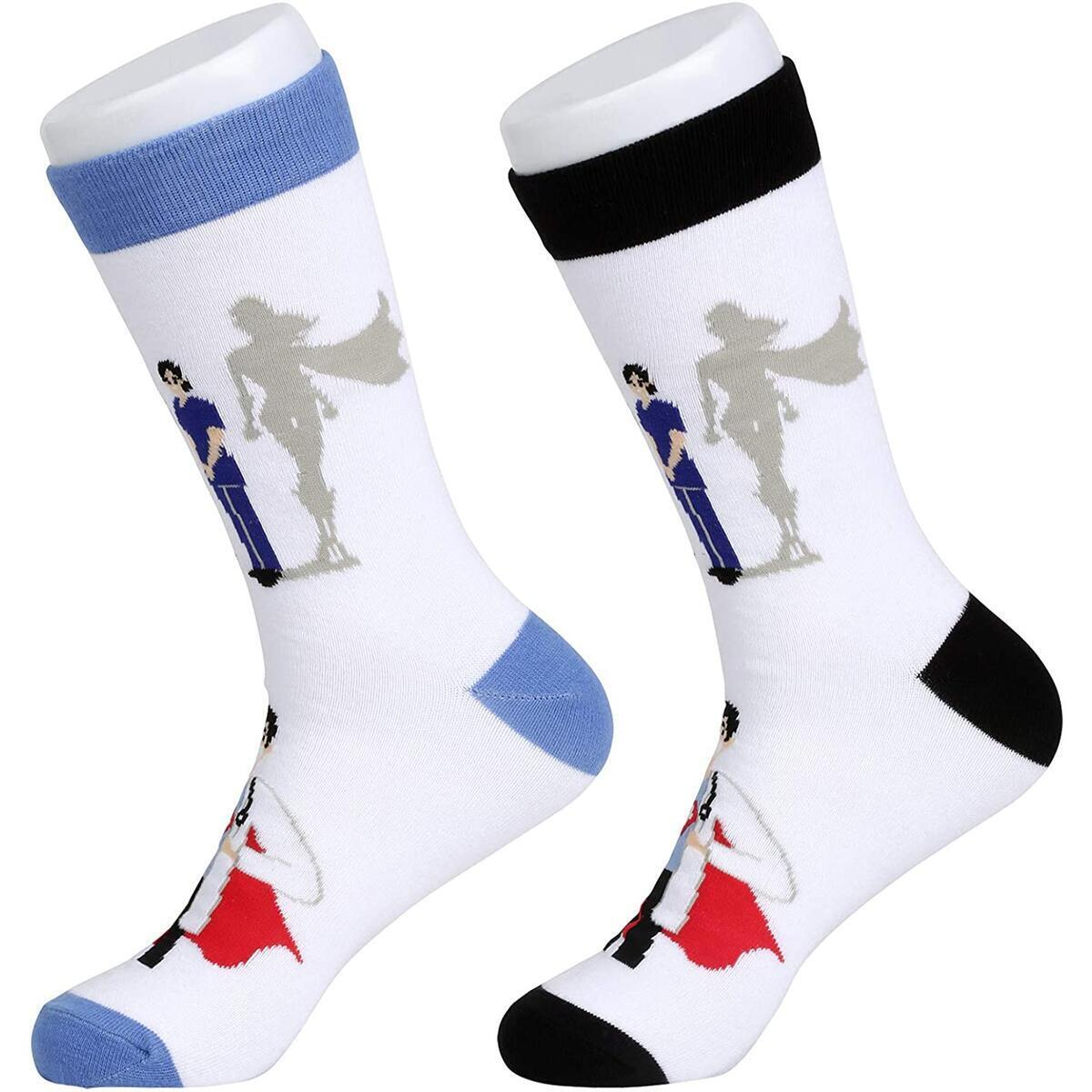 Medical Hero Doctor Nurse Technician Aid Novelty Socks Unisex, 2 pair