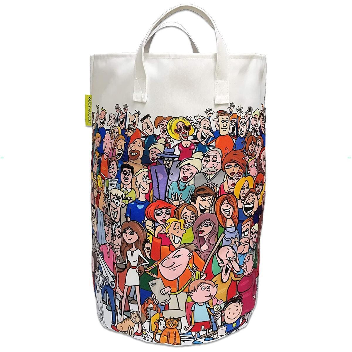 Canvas Laundry Bag for Kids & Teens