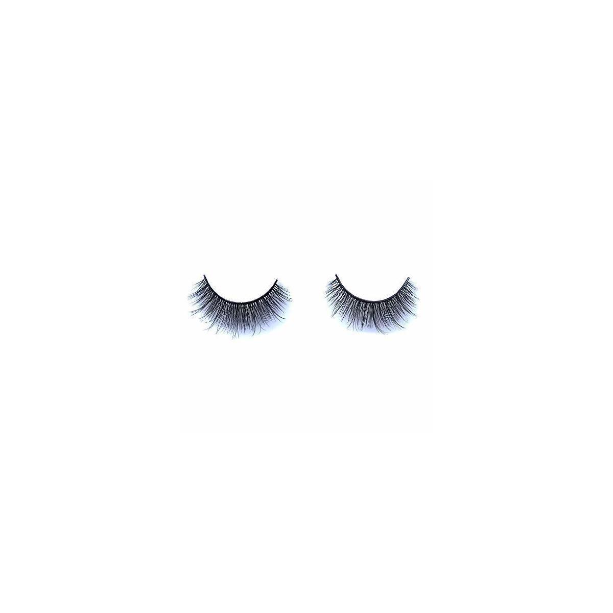 10 Pairs Natural Look Reusable Short Volume Fluffy Eyelashes Wispy Lashes
