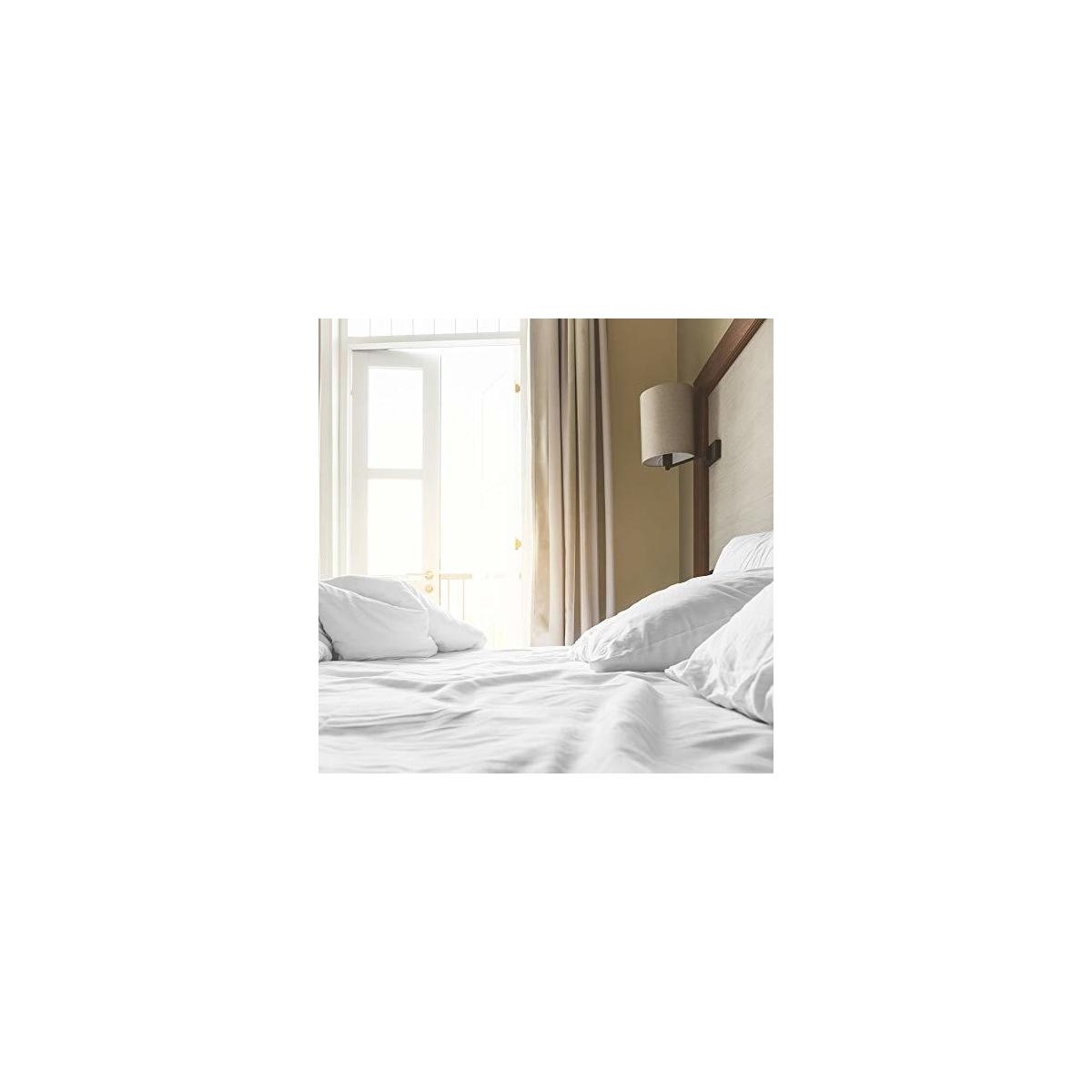 Sweave Eucalyptus Tencel & Egyptian Cotton KING SIZE Fitted Sheet Set, Luxury Bedding, Insanely Soft, Comfortably Cool Bed Sheets, Percale, Anti-Wrinkle, Eco-Friendly.