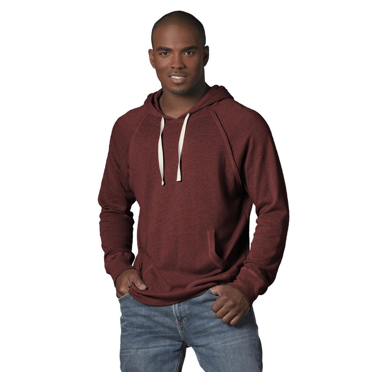 MV Sport Lightweight Hoodie Men (Ultimate Long Sleeve Hooded T Shirt Men) Slim Fit Shirt Men