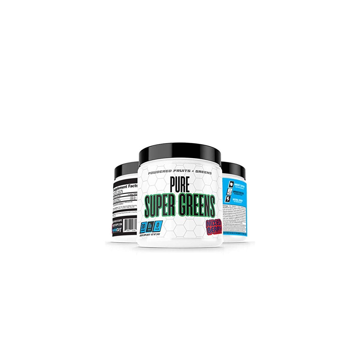 Pure Super Greens - Fruit & Greens Superfood