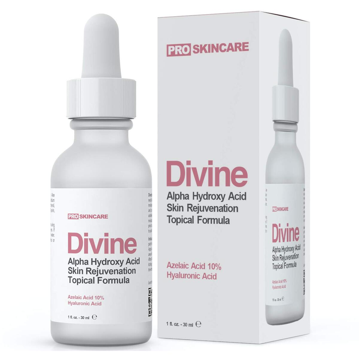 Azelaic Acid Facial Serum with Niacinamide and Hyaluronic Acid - Natural & Organic Anti Wrinkle Reducer, Dark Circle, Fine Line & Sun Damage Corrector - Boost Collagen, Treat Cystic Acne Scars, Rosacea Treatment for Face