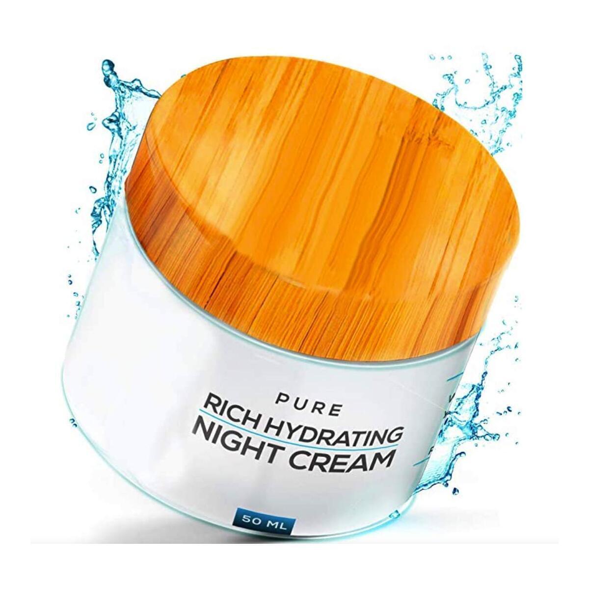 Organic Night Cream (Firming & Anti-Aging Cream Treatment)