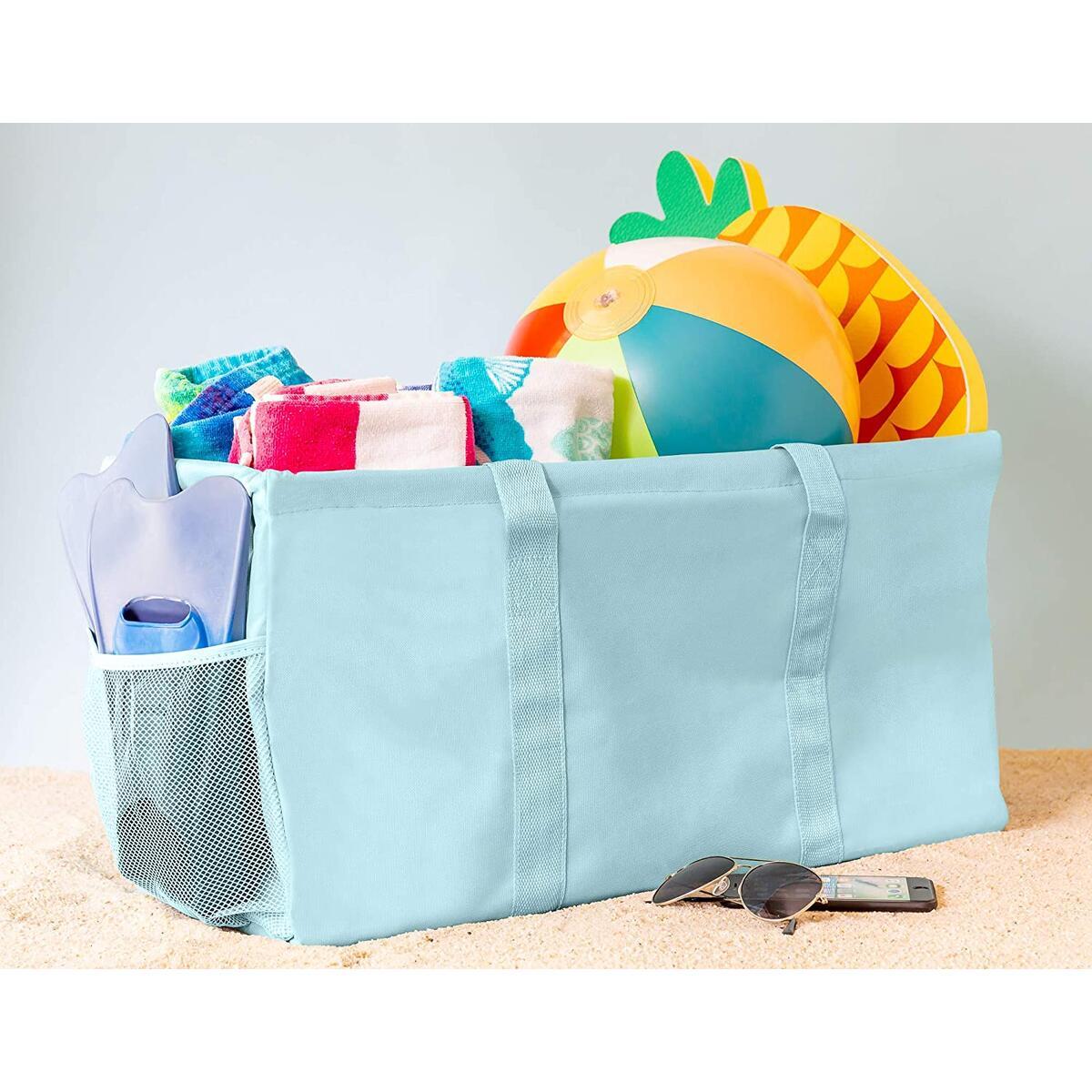 Extra Large Utility Tote Bag - Light Blue