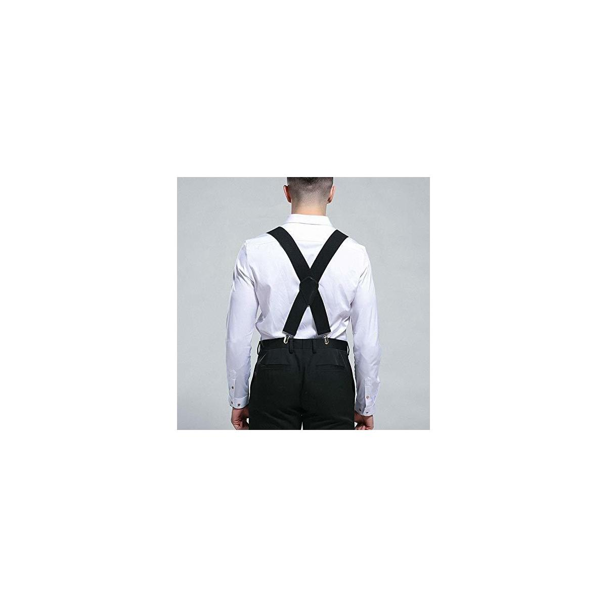 Mens Suspenders, Strong X Style 2