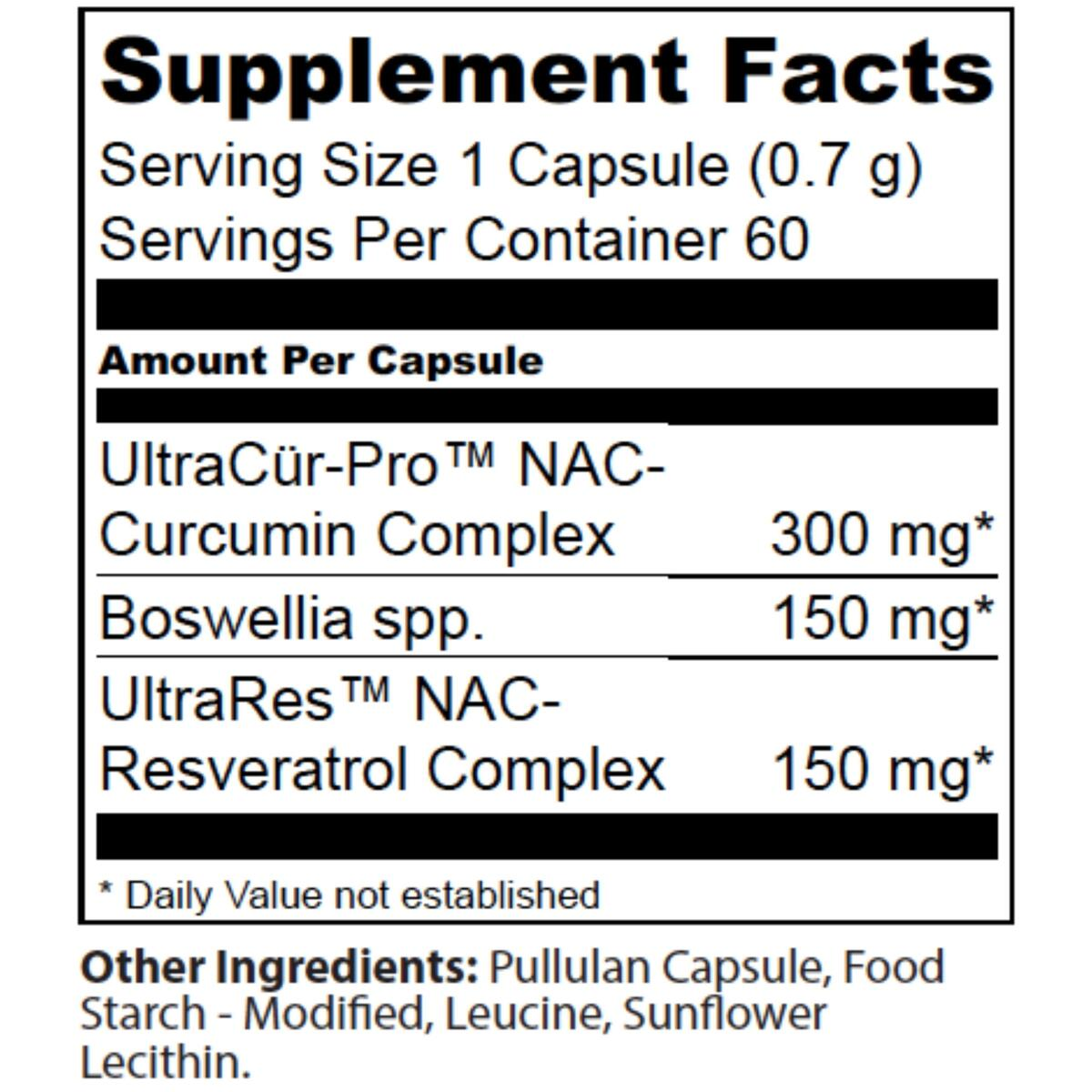 Wellspring Health Curcumin for Joint Pain – Potent Turmeric Supplements – Pure Anti Inflammatory Extracts with Boswellia and Resveratrol – Max Bioavailability Inflammation Pill (60 Capsules)