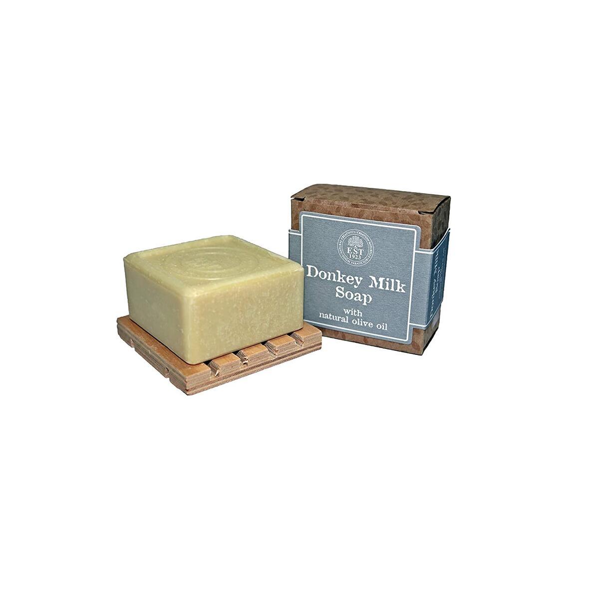 Donkey Milk Vegetarian Soap Bar - EST1923, Donkey Milk Soap, Donkey Milk Products for All Skin Types, Donkey Milk Skin Care, Vegetarian Soap Bar, Unscented Bar Soap, Paraben Free, Unisex