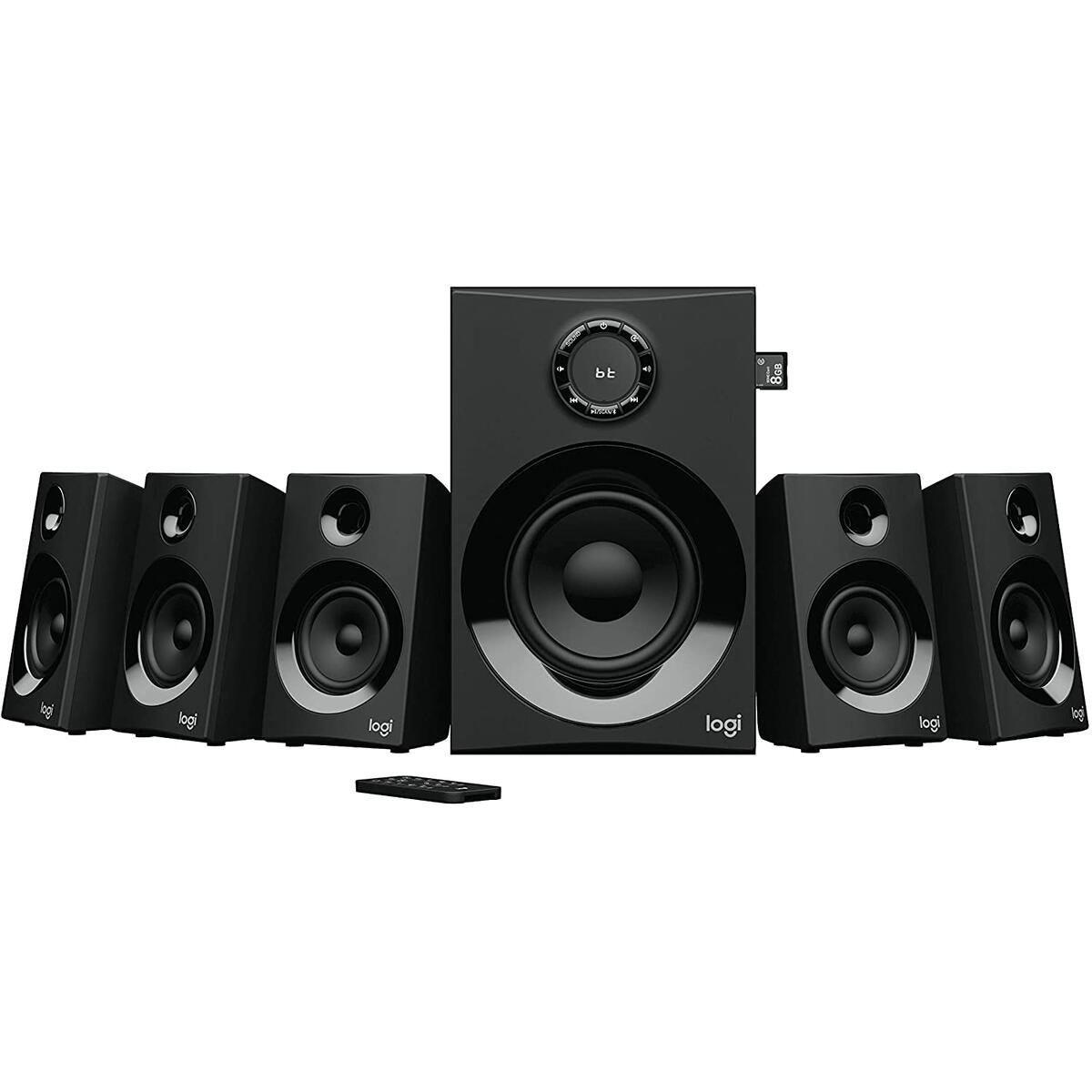 Logitech Z606/Z607 5.1 Surround Sound Speaker System with Bluetooth