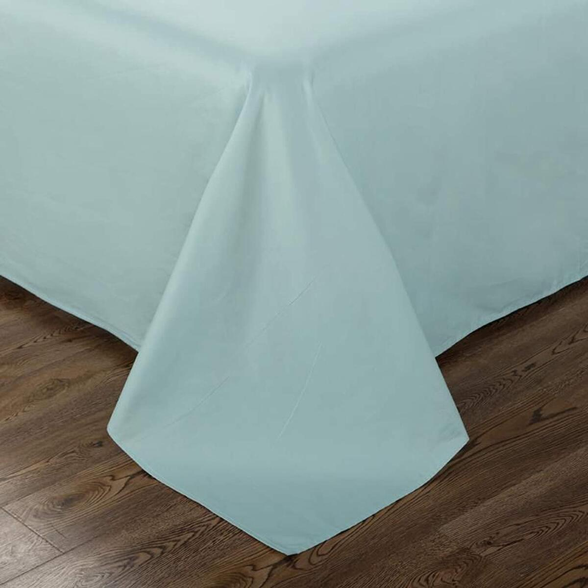 110 Inches Extra Wide 100% Long-Staple Egyptian Cotton Solid Broadcloth Fabric - Combed Cotton for Sewing DIY Crafting - Sold by The Yard (Aqua)…