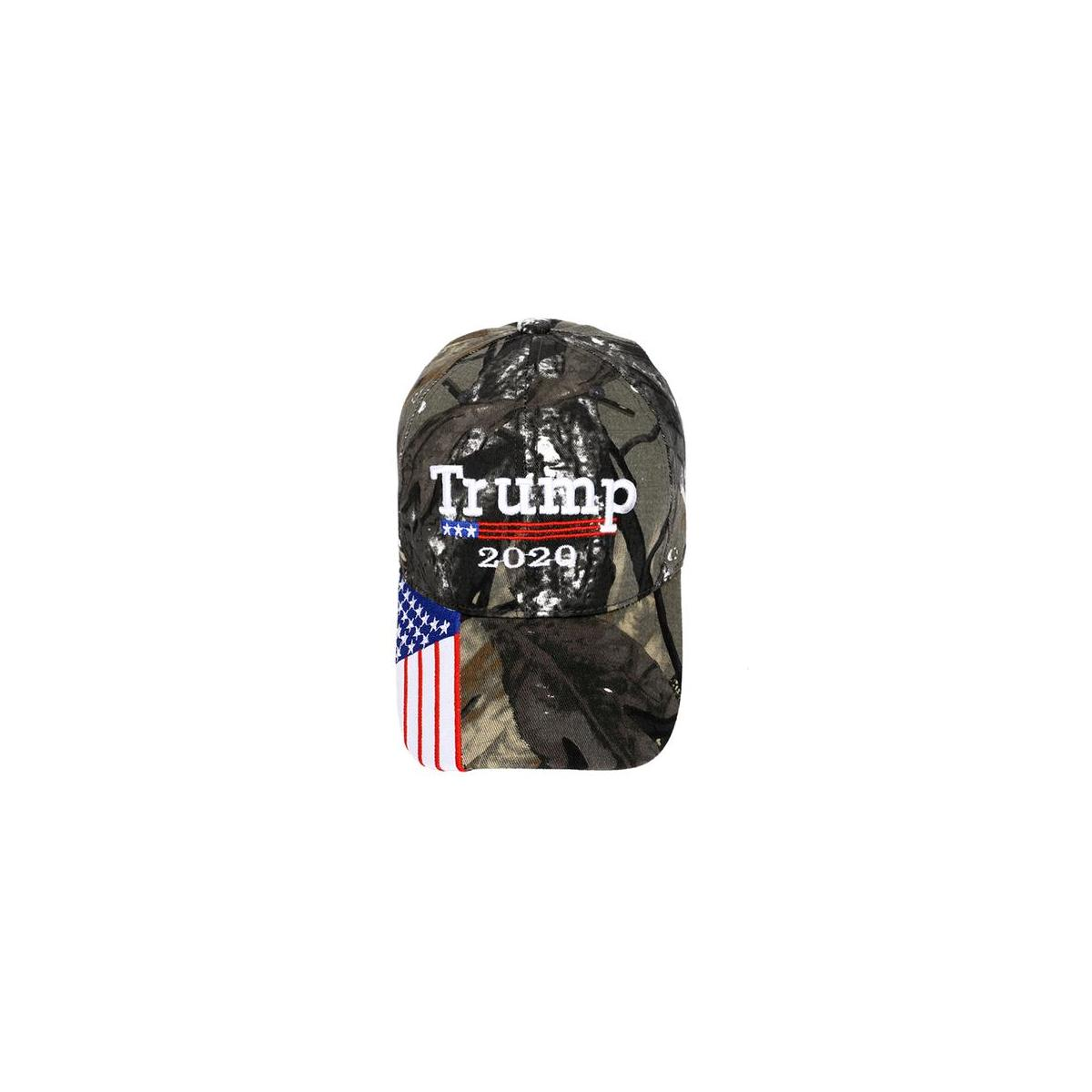 Como - Trump Baseball Cap Flag Keep America Great Trump Hat Campaign Embroidered/Printed Signature