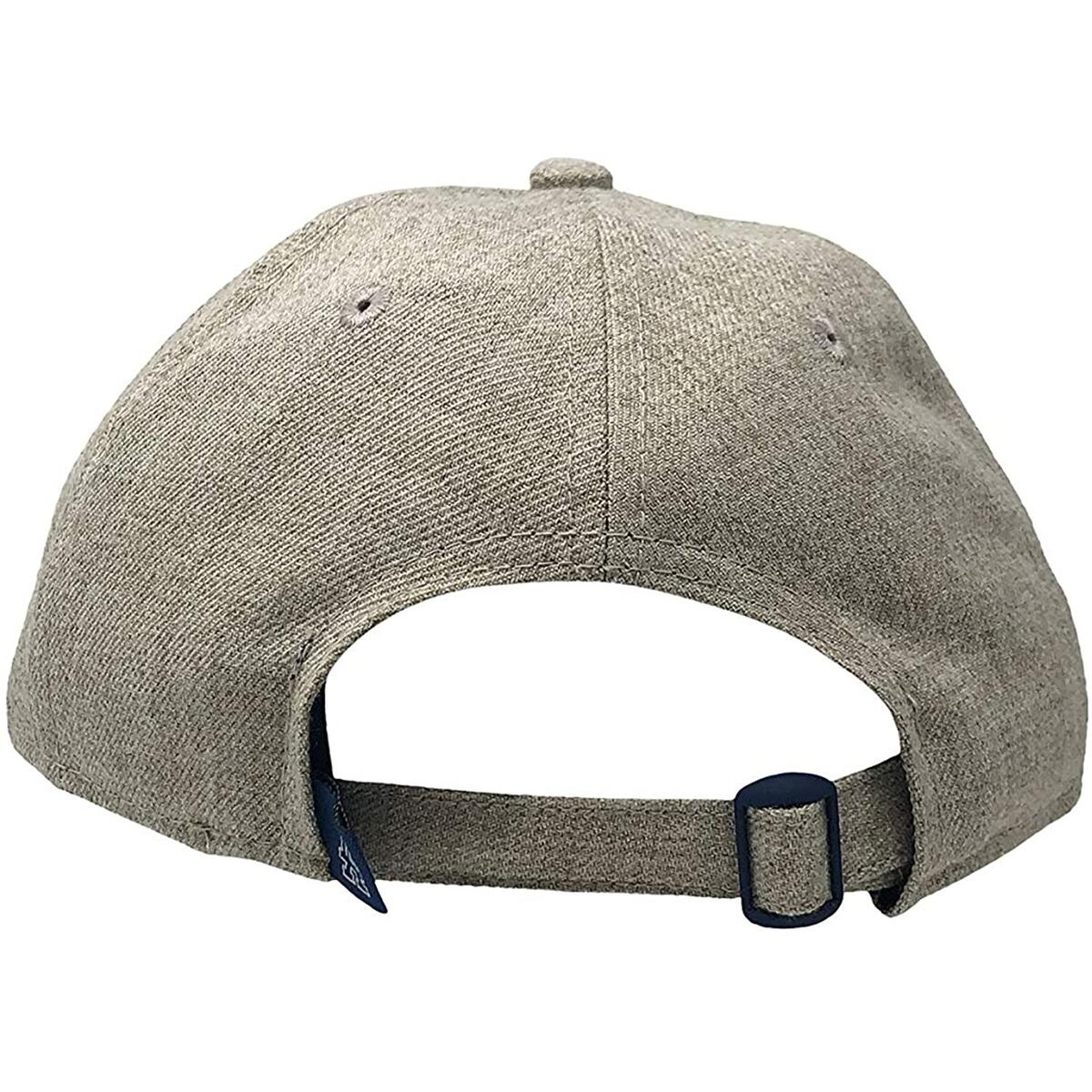 New Era Los Angeles Dodgers Adjustable Strapback Hat MLB 9Twenty Curve Bill Caps (One Size, Beige NEC)