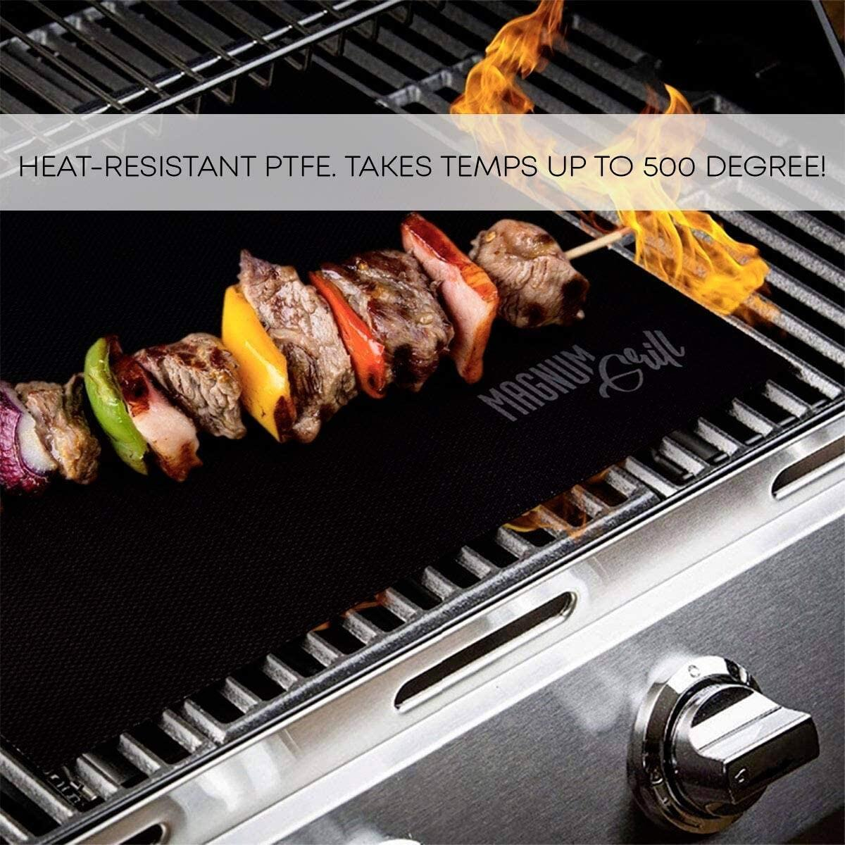 Set of 2 Grilling Mats -  Non Stick , Magnum Grill