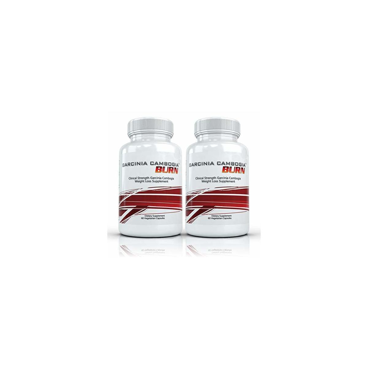 Garcinia Cambogia Burn (2 Bottles) - Weight Loss Supplement