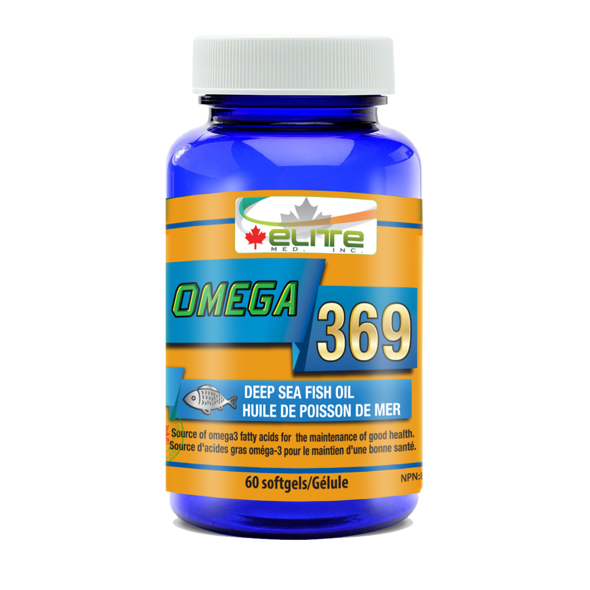 Omega 369 Fish Oil Omega 3 Fish Oil DHA & EPA Supplement