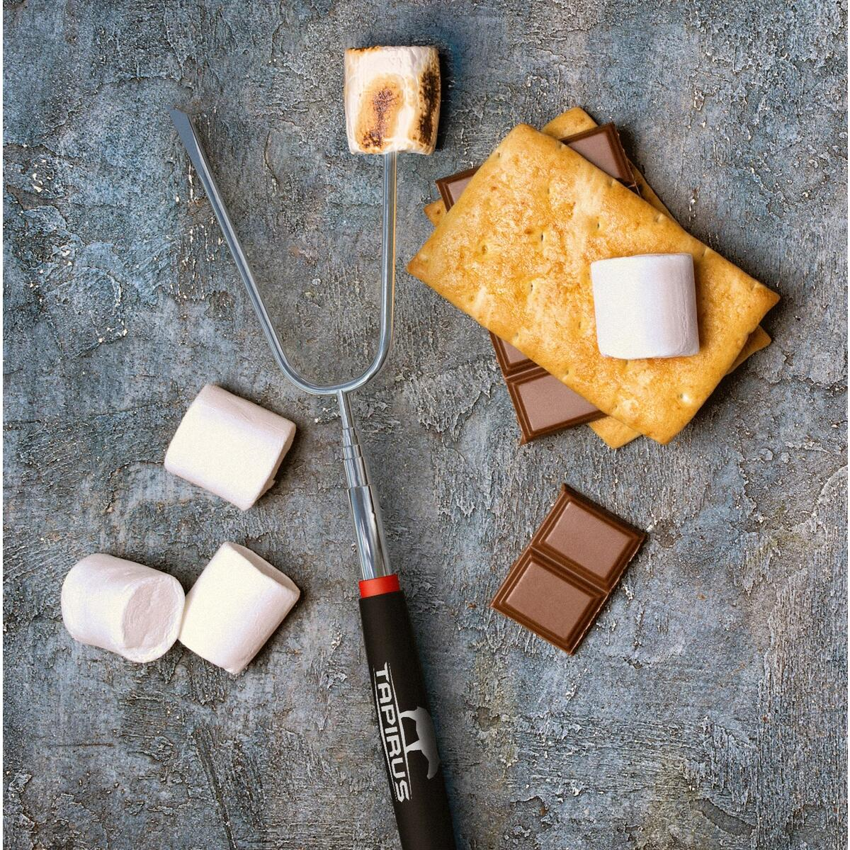 Tapirus Marshmallow Roasting Sticks - set of 4