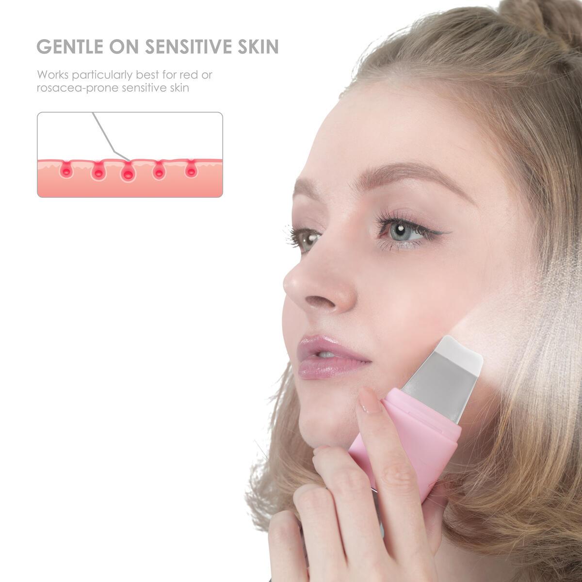 ($118 Value) SVK KANDICE Ultrasonic Skin Scrubber Face Scrubber