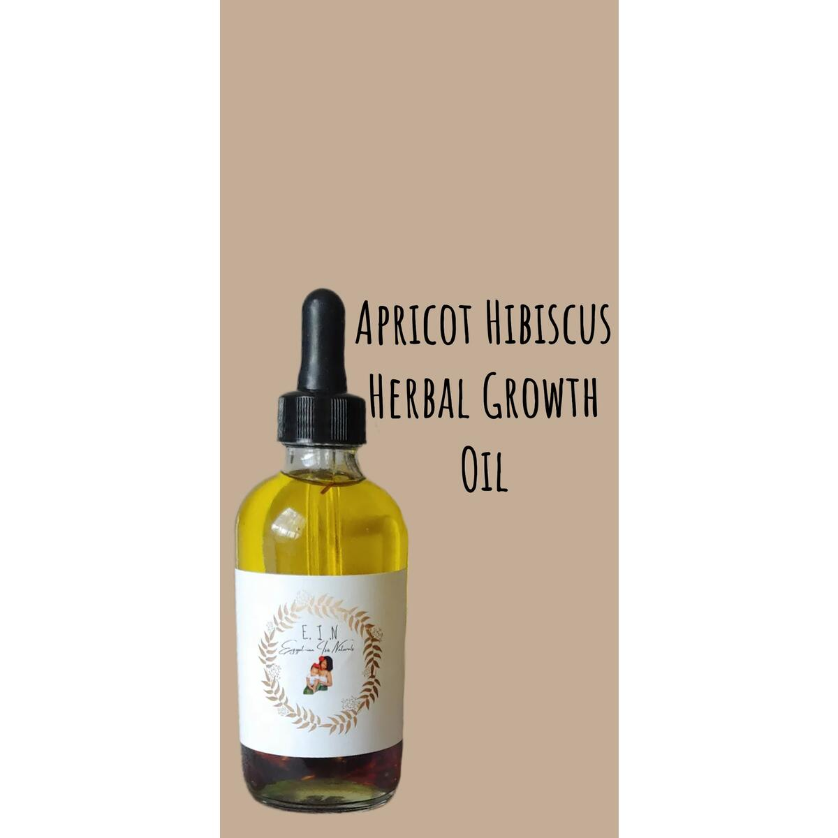 Apricot Hibiscus Herbal Growth Oil