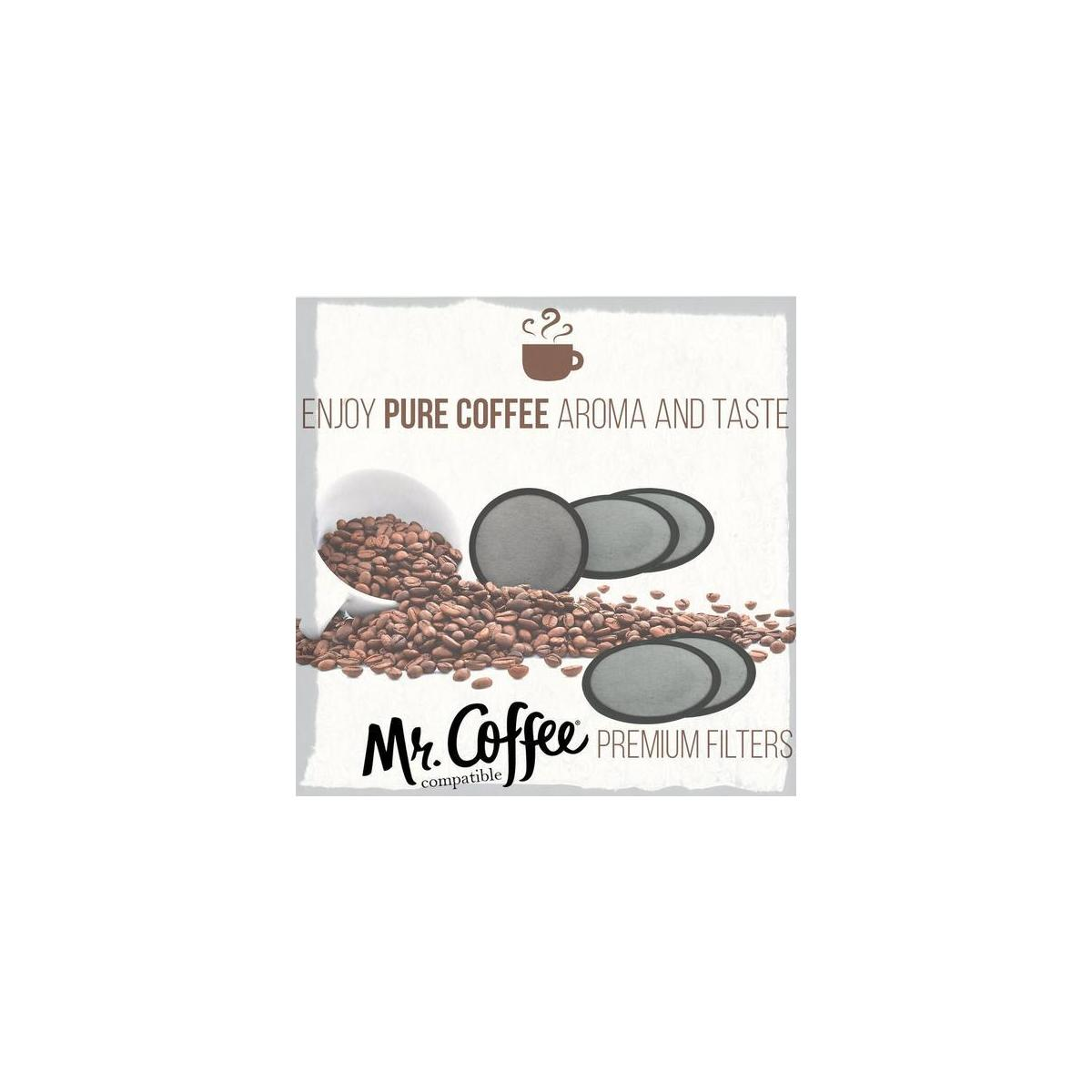 Premium Filter Discs for your MR. COFFEE Brewer