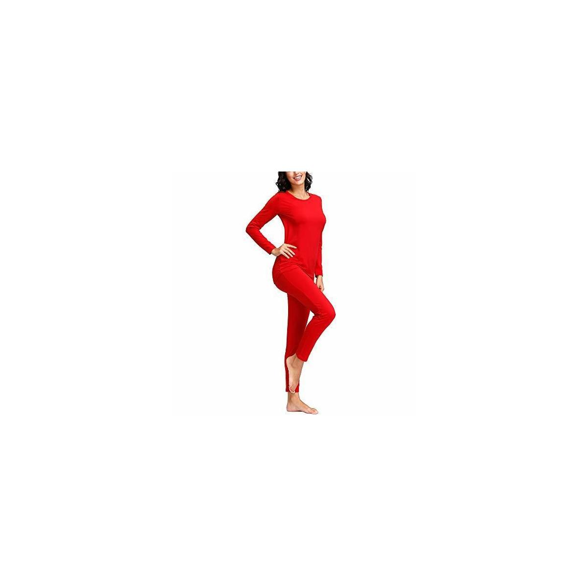 DOC Breathable Premium Quality Women Thermal Underwear Set - All Sizes and Colors