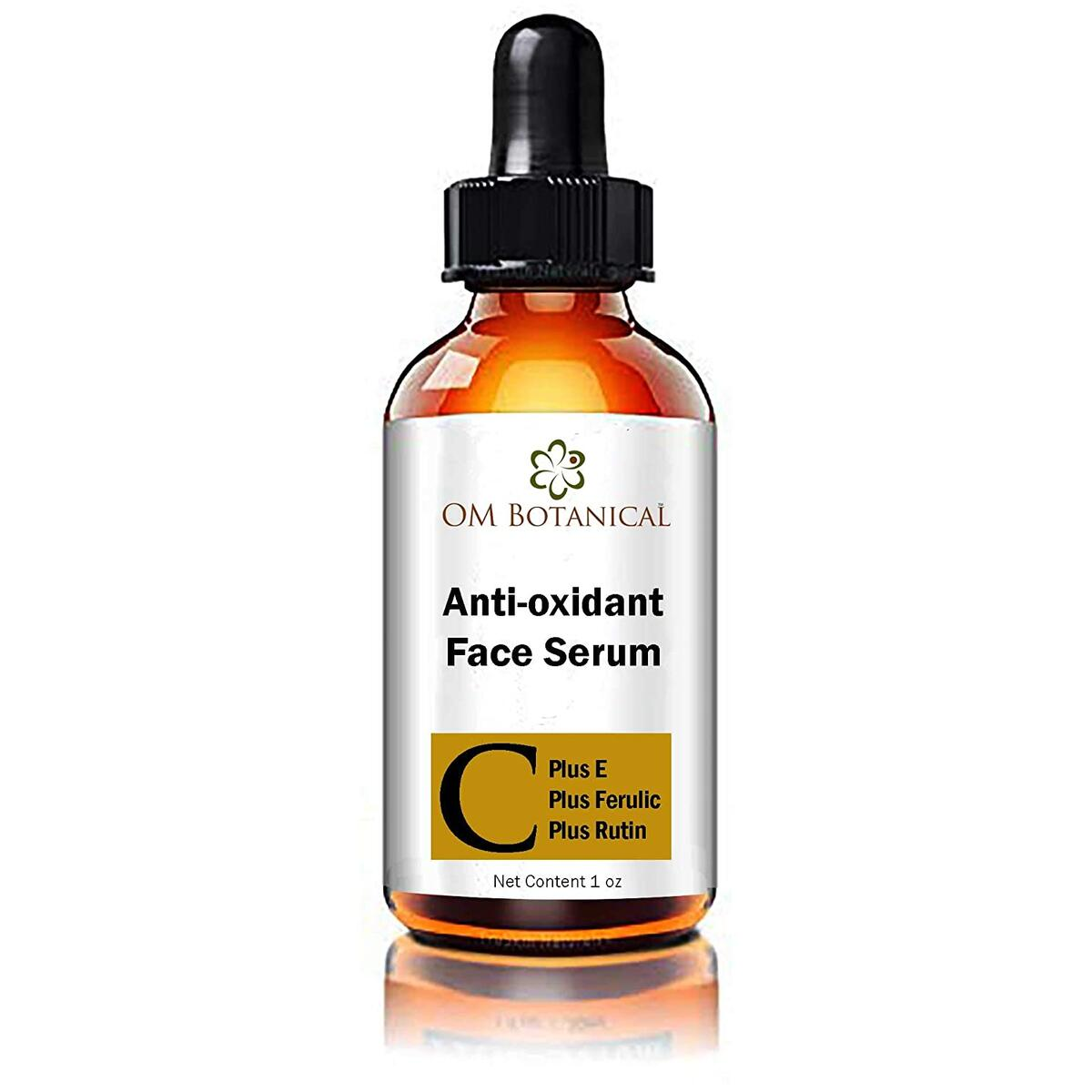 Antioxidant Vitamin C Face Serum Combined with Vitamin E, Ferulic Acid and Rutin | Power of Four is Better Than One. Making This The Most Effective Collagen Boosting Facial Serum on Amazon