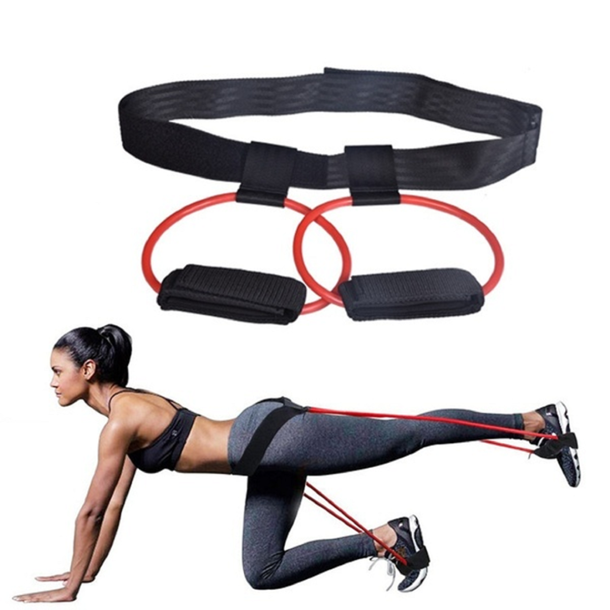 Bands Resistance Booty Hip Exercise Circle Legs Glute Fitness Bands