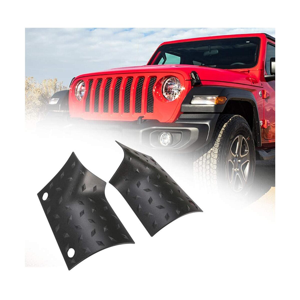 Cowl Body Armor Jeep JL, A&UTV PRO Star Outer Cowl Covers Guard Compatible with 2018-2020 Jeep Wrangler JL Gladiator JT Sahara Sport Rubicon