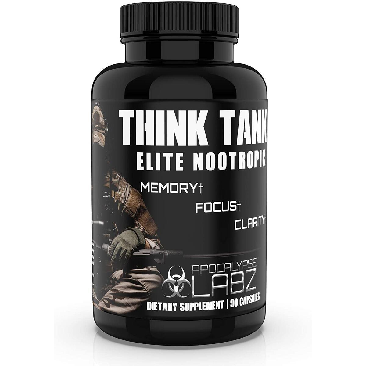 Think Tank Elite Nootropic Focus Supplement
