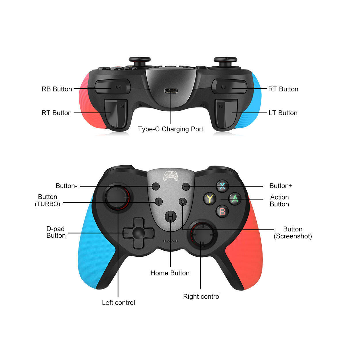 Nintendo Switch Controllers(blue)