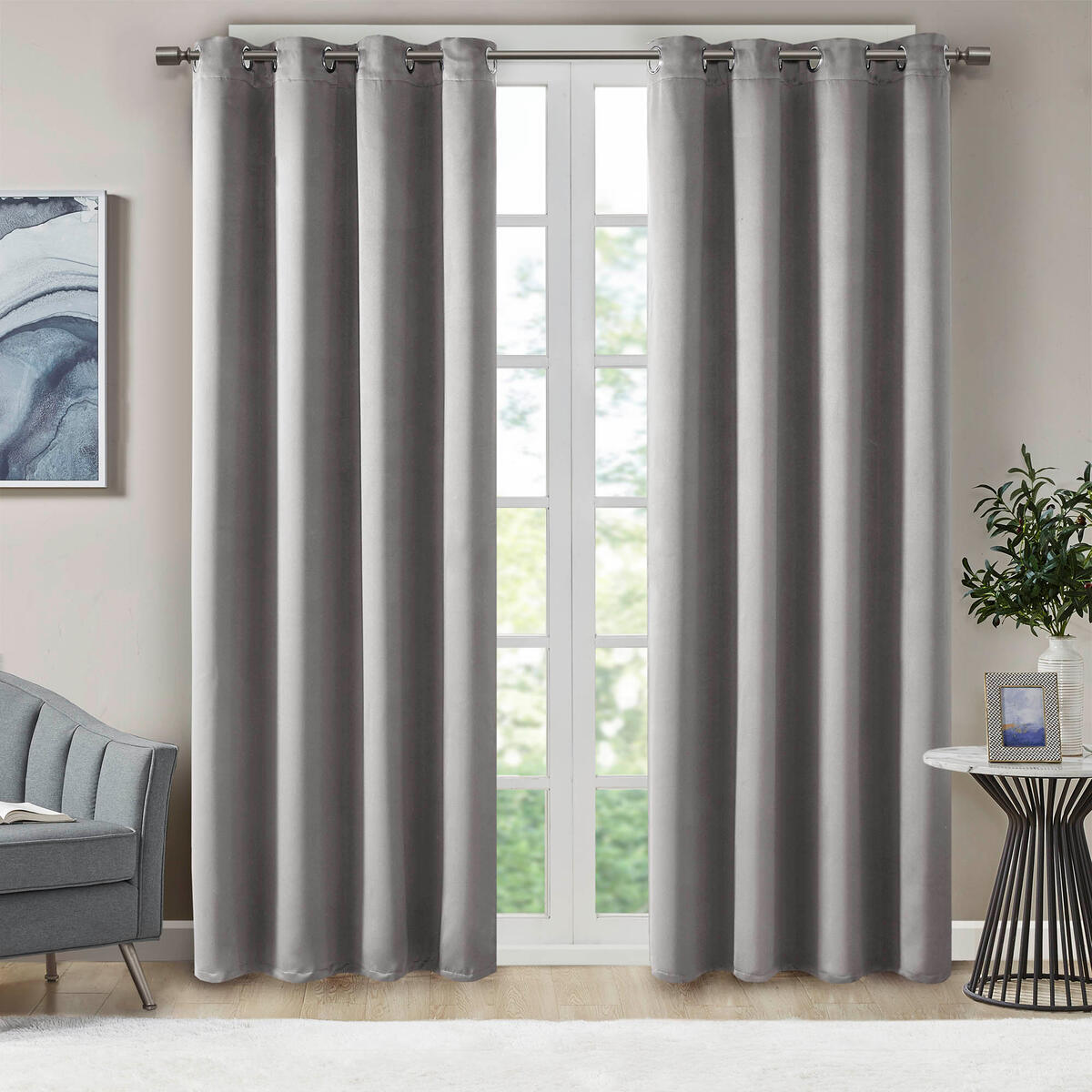 ANY COLOR - 42x84 - Blackout Curtains for Bedroom | Thermal Insulated Room Darkening Window Treatments W/Grommet Top | Triple Weave | Ideal for Nursery Or Kids Room | Any Color 42x84 - 2 Panels