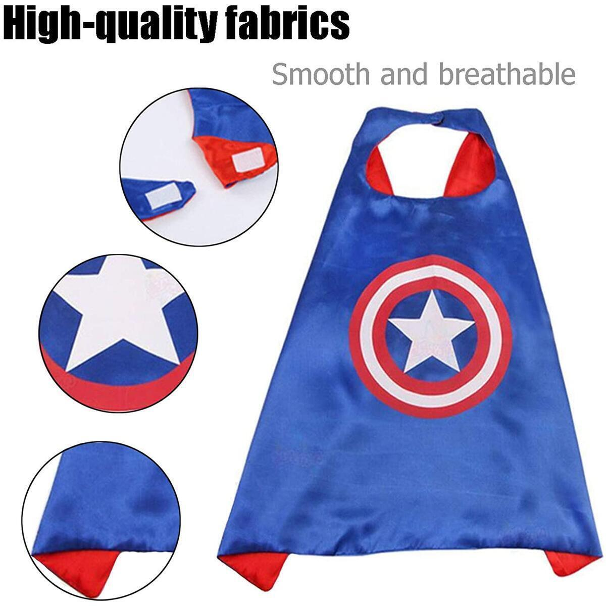 Superhero Capes with Masks for Kids