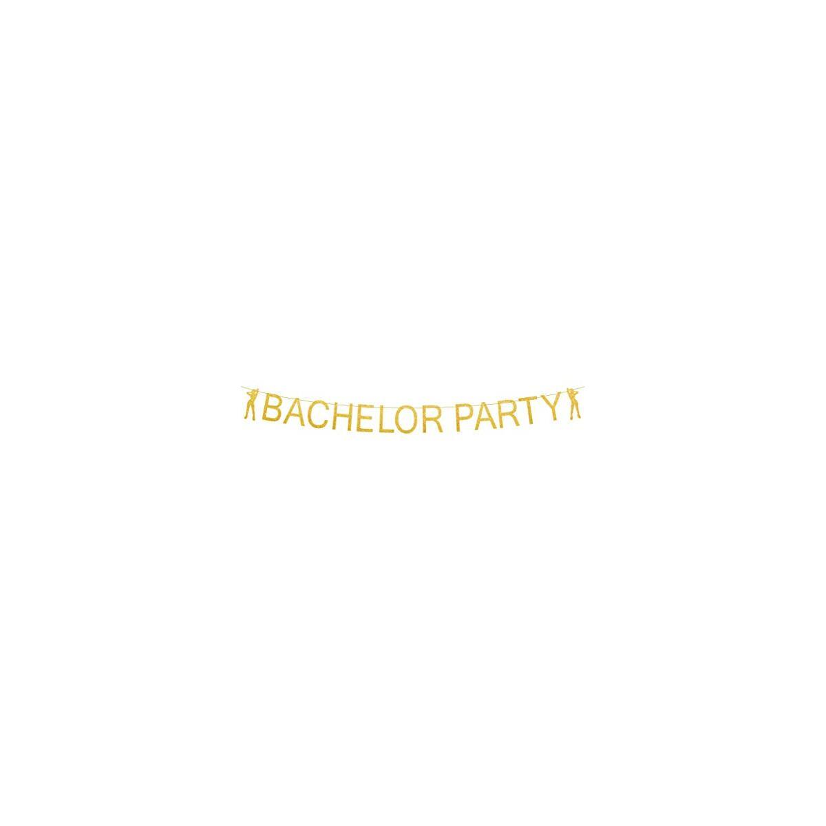 BroSash - Bachelor Party Decorations