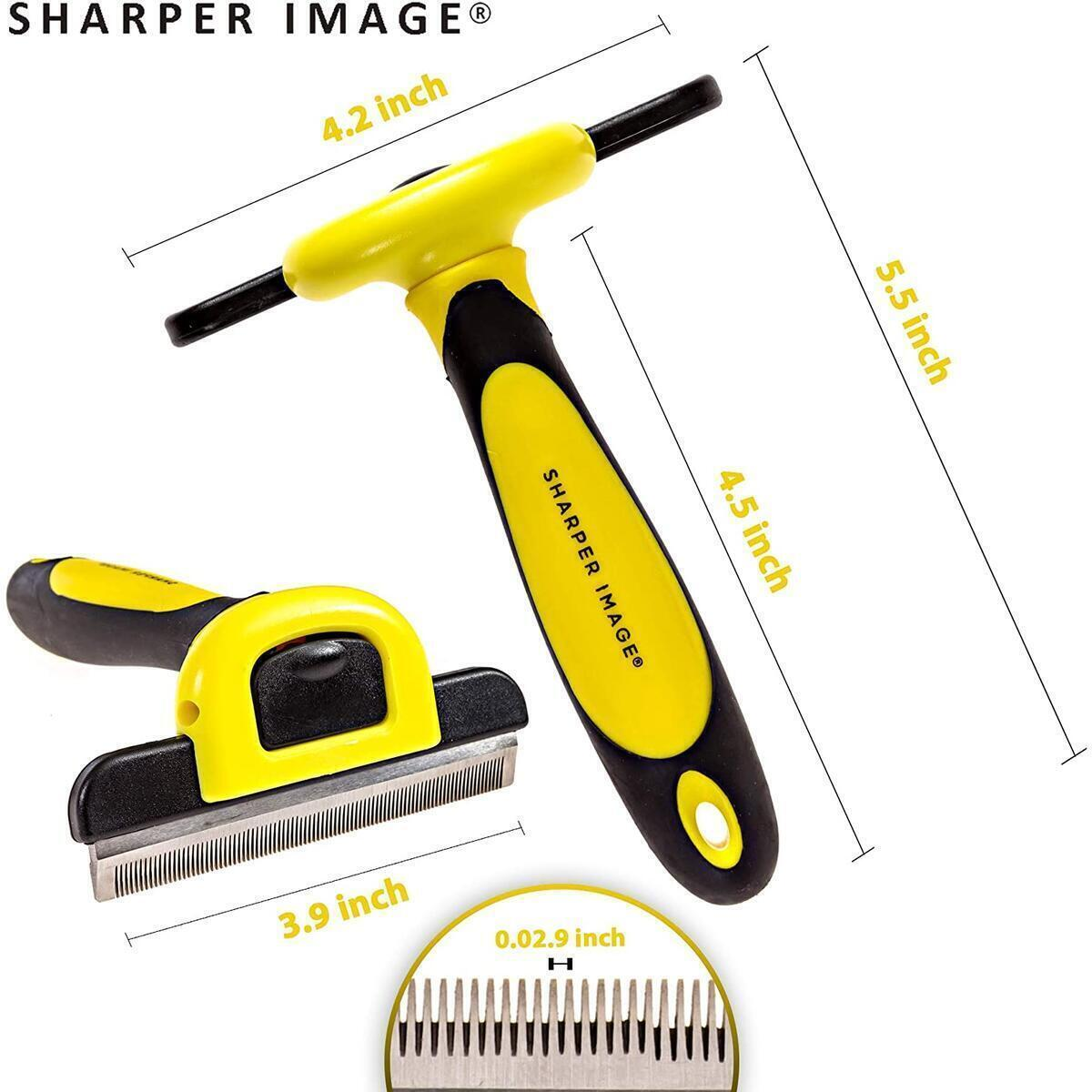 Dog Brush for Shedding - Professional Deshedding Tool for Dogs and Cats for Short Hair and Long Hair - Pet Grooming Tools Reduces Shedding